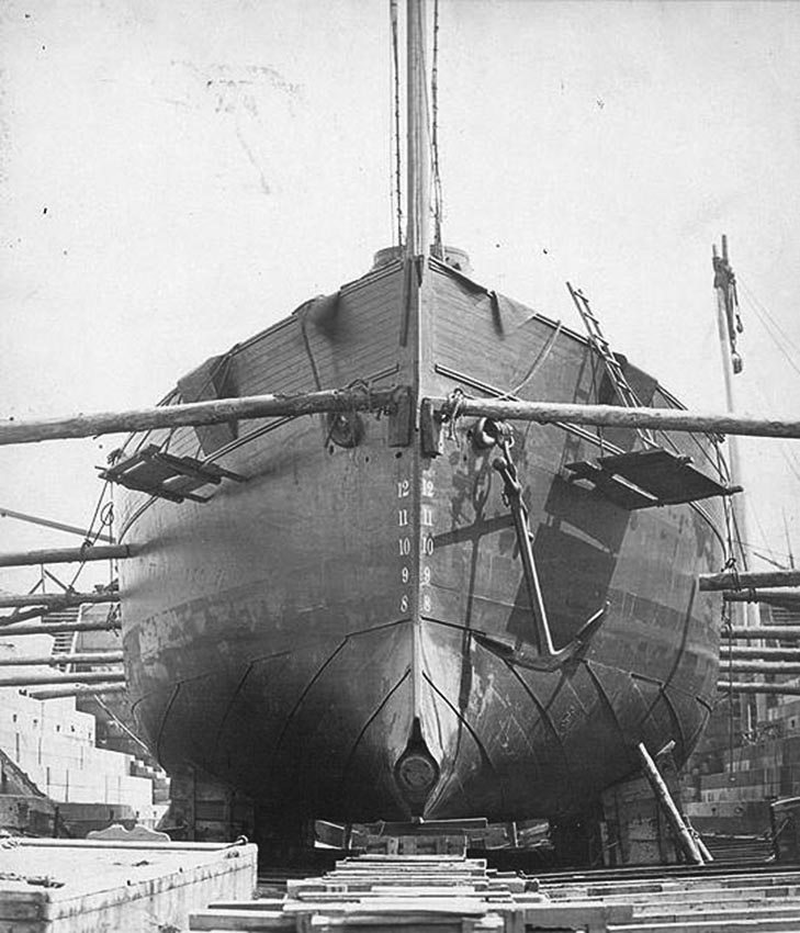 Click image for larger version.  Name:1.1. 2 1 0 0 6 USS INTREPID (Experimental Steam Torpedo Ram) 1.jpg Views:2 Size:117.9 KB ID:3676807