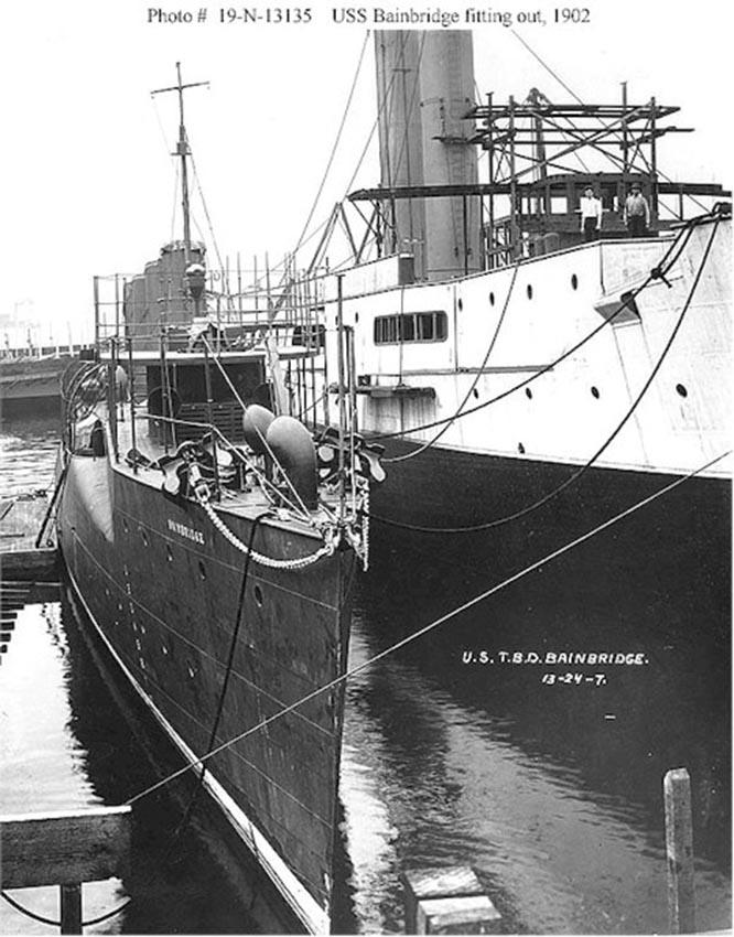 Click image for larger version.  Name:1.1. 2 1 1 USS Bainbridge (DD-1) 2.jpg Views:2 Size:123.7 KB ID:3677529