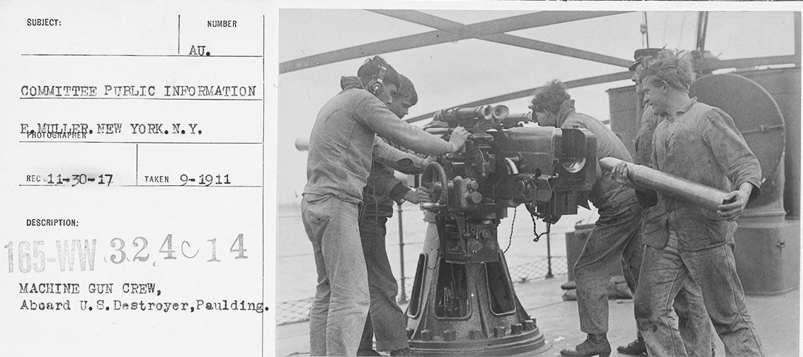 Click image for larger version.  Name:1.1. 2 1 2 broken deckers 2 1 flivvers USS Paulding (DD-22) Gun Practice aboard Paulding.jpg Views:2 Size:112.1 KB ID:3677561