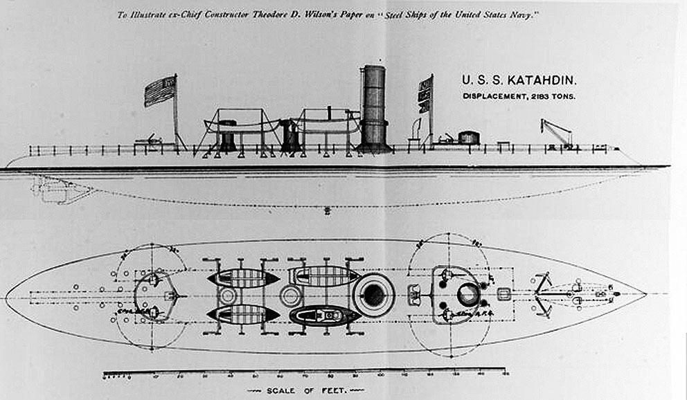 Click image for larger version.  Name:1.1. 2 2 1 0 1 Ram USS Katahdin drawing 1.jpg Views:1 Size:125.8 KB ID:3678035