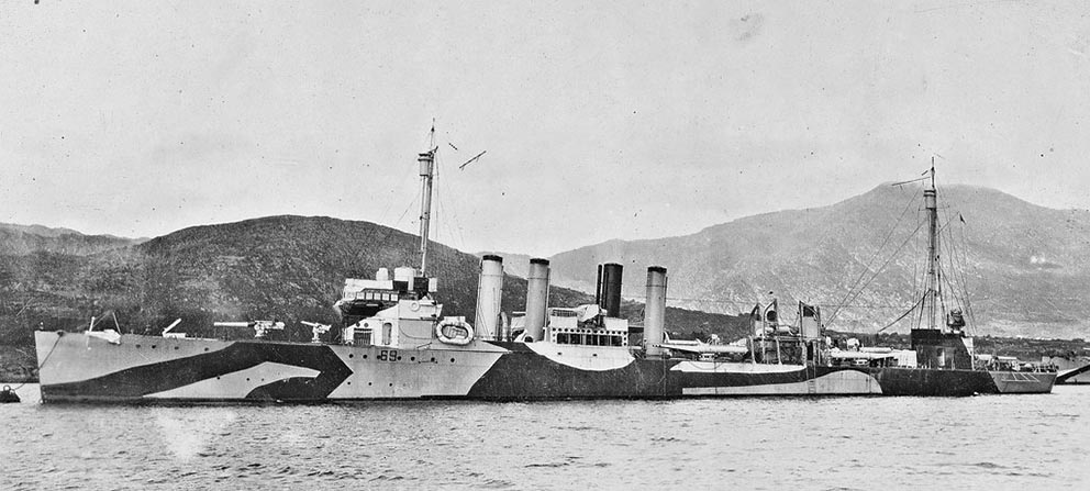 Click image for larger version.  Name:1.1. 2 2 1 1 USS Caldwell DD-69 1918.jpg Views:1 Size:100.6 KB ID:3678745