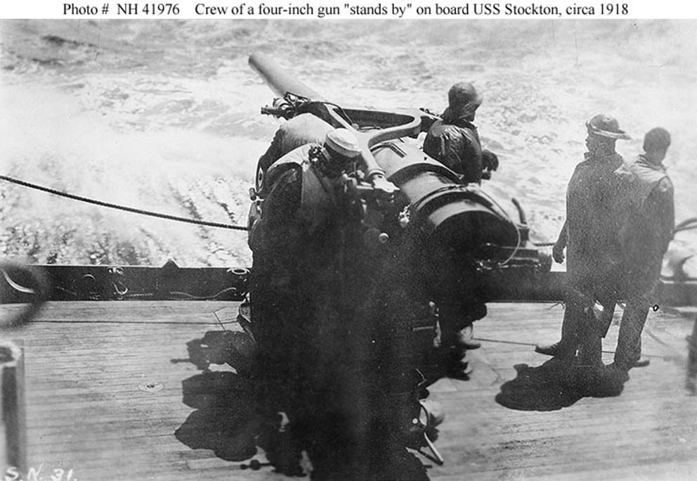 Click image for larger version.  Name:1.1. 2 2 1 4 USS Stockton (DD-73) 3 midships 4in -50 gun.jpg Views:1 Size:123.8 KB ID:3678761