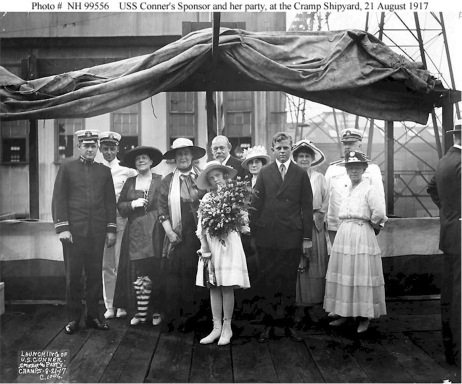 Click image for larger version.  Name:1.1. 2 2 1 6 3a USS Conner's launching ceremonies, at the Cramp shipyard, Philadelphia, Pennsylv.jpg Views:1 Size:176.3 KB ID:3678775