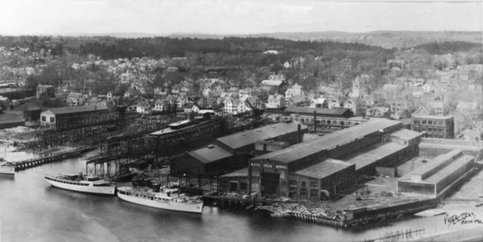 Click image for larger version.  Name:1.1. 2 2 1 6 5 Bath Iron Works in Maine.JPG Views:1 Size:78.6 KB ID:3678773