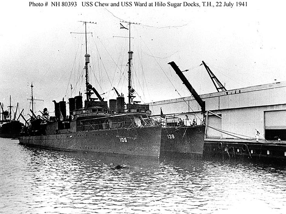 Click image for larger version.  Name:1.1. 2 2 4 1 USS Chew (DD-106) and USS Ward (DD-139) at Hilo Sugar Docks, Territory of Hawaii, 2.jpg Views:1 Size:179.1 KB ID:3679443