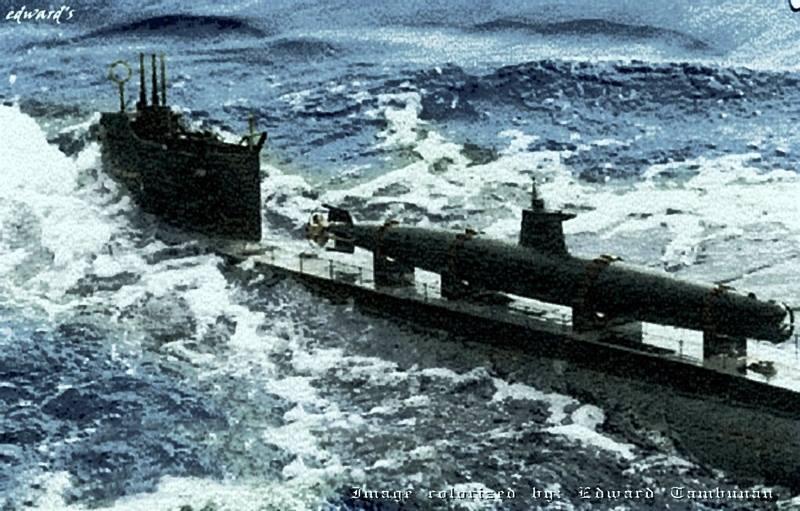 Click image for larger version.  Name:1.1. 2 2 4 11 5 Japanese Ko-Hyoteki on a submarine.jpg Views:1 Size:83.7 KB ID:3679479