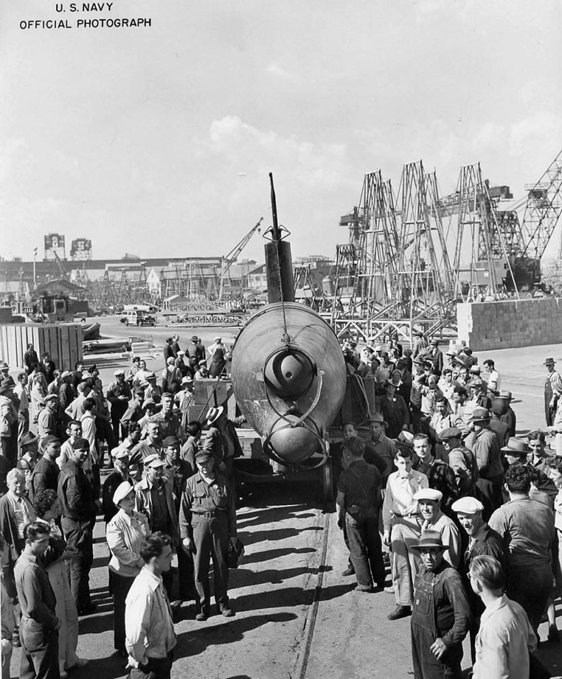 Click image for larger version.  Name:1.1. 2 2 4 33 HA-19 6b at Mare Island on 10 September 1942.jpg Views:1 Size:186.2 KB ID:3681185