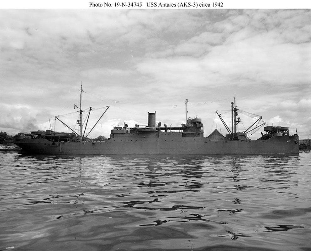 Click image for larger version.  Name:1.1. 2 2 4 7 11 USS Antares.jpg Views:1 Size:127.5 KB ID:3679465