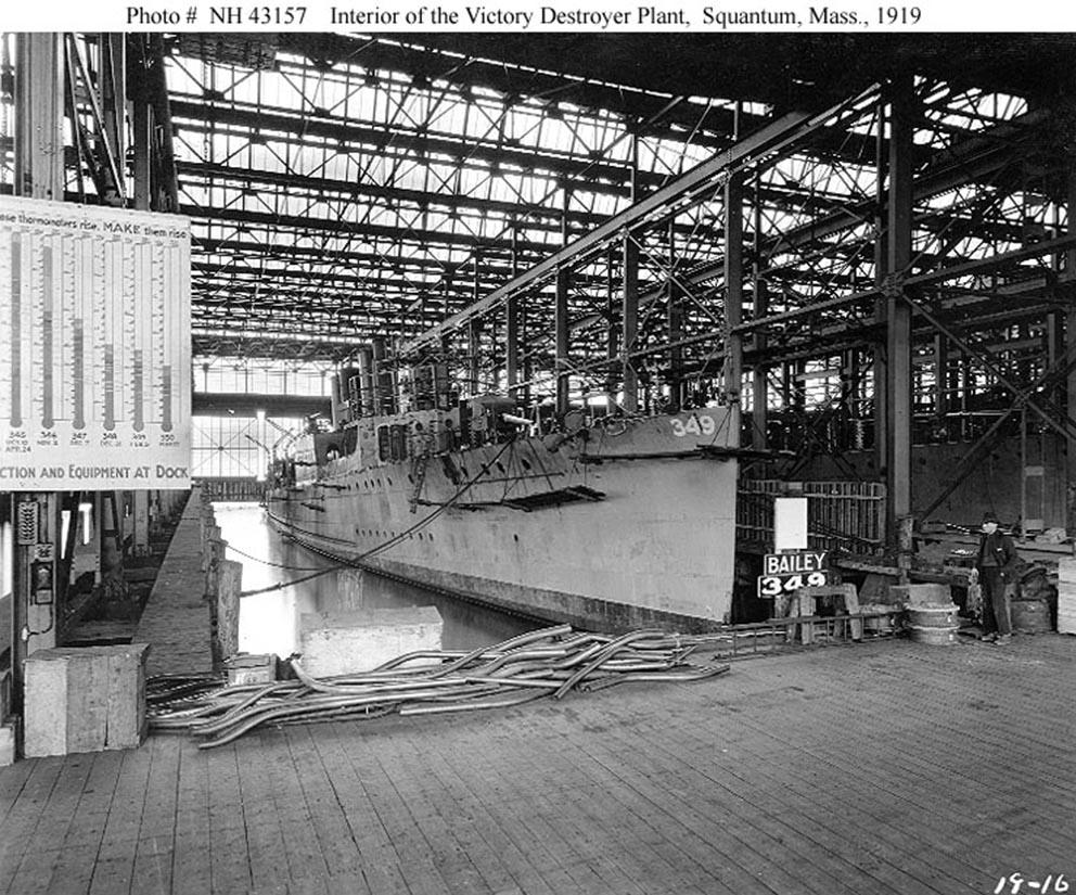 Click image for larger version.  Name:1.1. 2 4 5 Victory Destroyer Plant, Bethlehem Shipbuilding Corporation, Squantum, Massachusetts.jpg Views:1 Size:229.9 KB ID:3682339