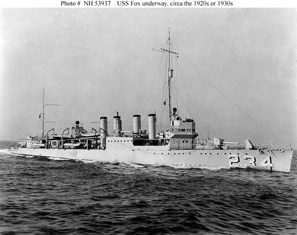 Click image for larger version.  Name:1.1. 2 8 4 USS Fox (DD-234).jpg Views:1 Size:134.0 KB ID:3682385