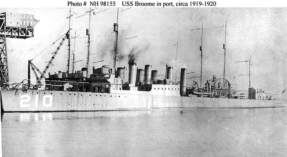 Click image for larger version.  Name:1.1. 2 8 8 USS Broome (DD-210) 2.jpg Views:2 Size:118.9 KB ID:3682403