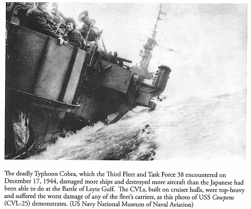 Click image for larger version.  Name:1.1. 3 0 4 5 4 The Caine Mutiny USS Cowpens (CVL-25) during Typhoon Cobra.jpg Views:2 Size:220.3 KB ID:3682945