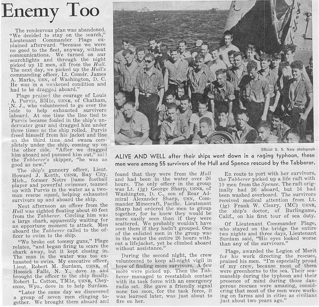 Click image for larger version.  Name:1.1. 3 0 4 9 5 The Caine Mutiny USS Hull and Spence survivors.jpg Views:3 Size:450.5 KB ID:3682959