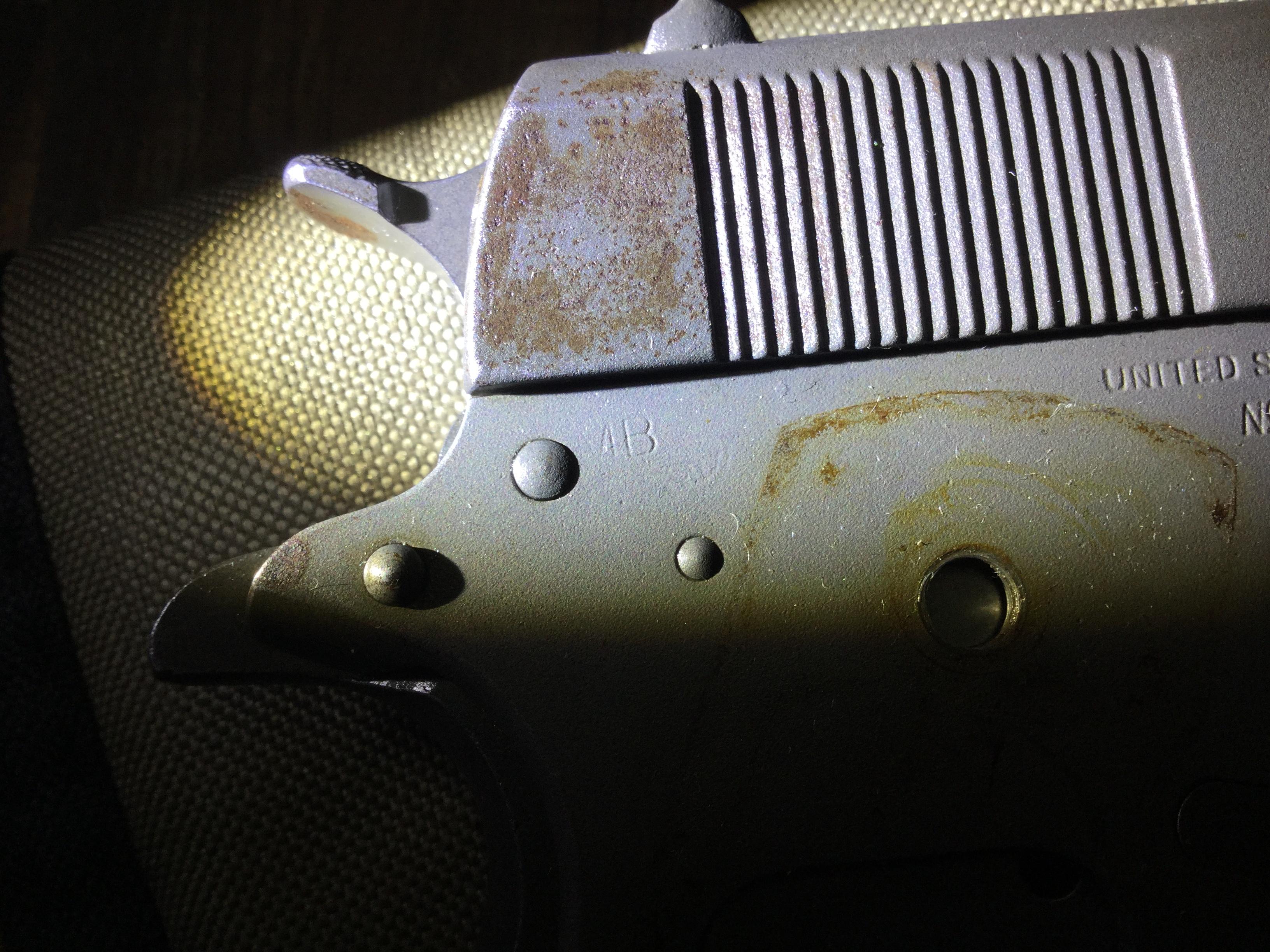 1944 Colt 1911a1 markings? New pics  LEAD arsenal?