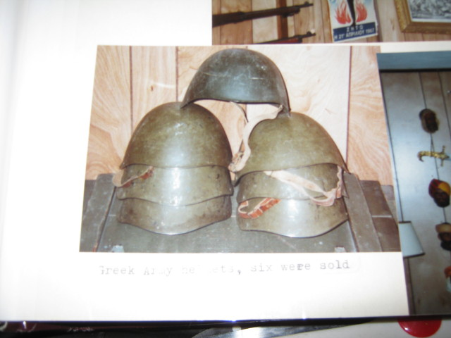 Click image for larger version.  Name:1st Collection  Greek Army Helmets Athens Trip 1988.JPG Views:12 Size:65.6 KB ID:1833201