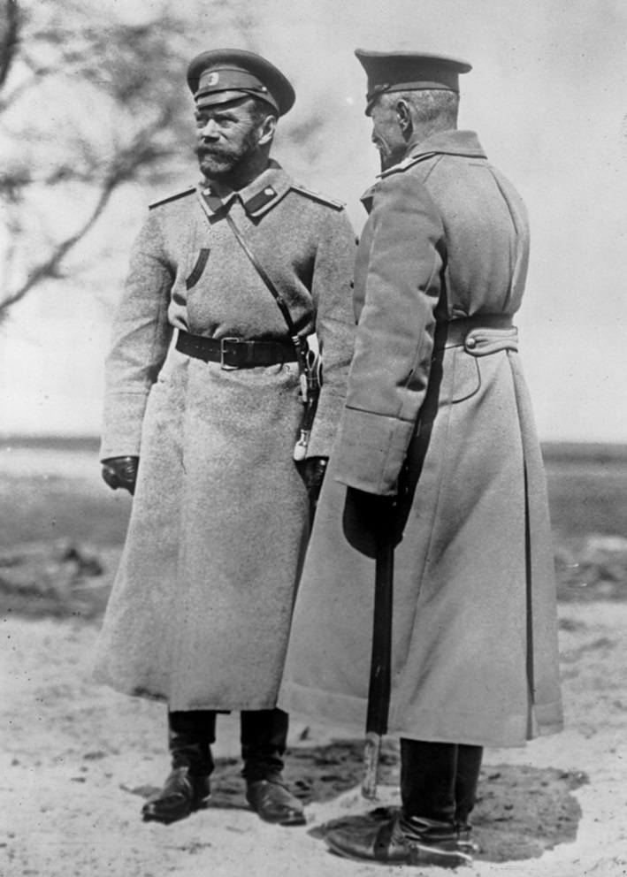 Click image for larger version.  Name:2.2. 5 WW1 Alcohol Czar Nicholas II and General Brussilow 1916.jpg Views:1 Size:173.0 KB ID:3652141