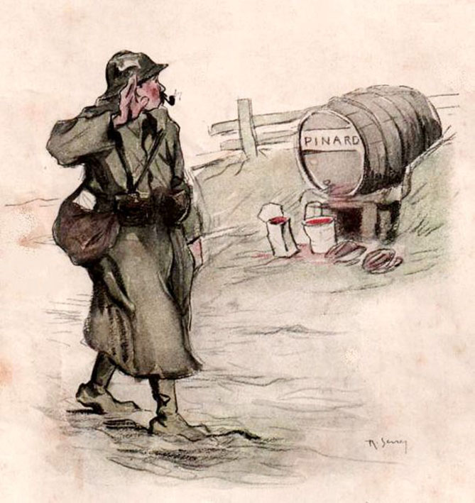 Click image for larger version.  Name:2.3.1. 3 1 7 WW1 French alcohol Au salut le pinard.jpg Views:1 Size:110.6 KB ID:3652975