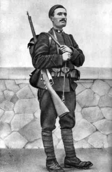 Click image for larger version.  Name:2.3.2. 1 10 11 Benito Mussolini as soldier 1917.jpg Views:36 Size:106.5 KB ID:3654967