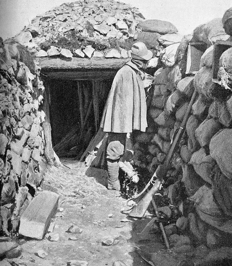 Click image for larger version.  Name:2.3.2. 1 5 Italian Trench at the Eastern Front.jpg Views:2 Size:251.7 KB ID:3654199