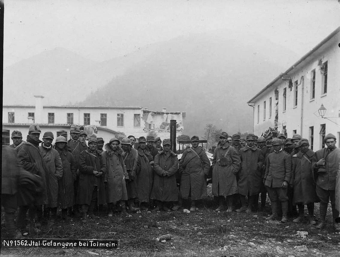 Click image for larger version.  Name:2.3.2. 14 Caporetto Italian prisoners 1 near Tolmino 1.jpg Views:1 Size:133.7 KB ID:3655663
