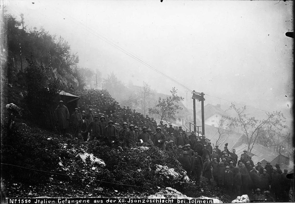 Click image for larger version.  Name:2.3.2. 14 Caporetto Italian prisoners 1 near Tolmino.jpg Views:1 Size:302.7 KB ID:3655665
