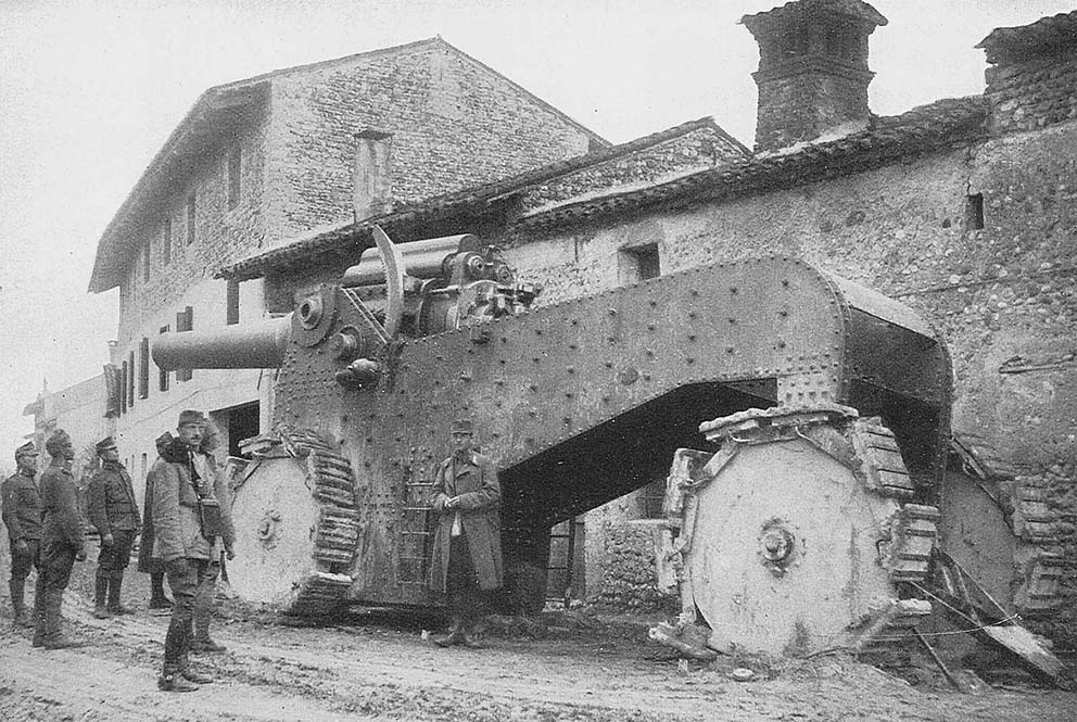 Click image for larger version.  Name:2.3.2. 15 Caporetto captured Italian heavy cannon 1917.jpg Views:1 Size:179.8 KB ID:3655673
