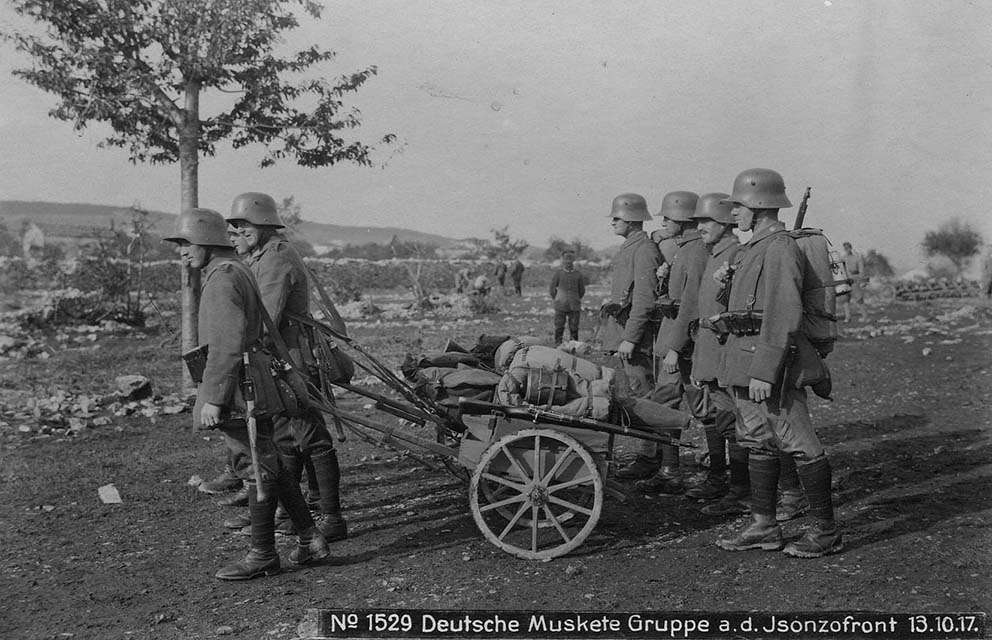Click image for larger version.  Name:2.3.2. 9 12th Isonzo Battle German riflemen, 13 October 1917..jpg Views:1 Size:125.8 KB ID:3655615