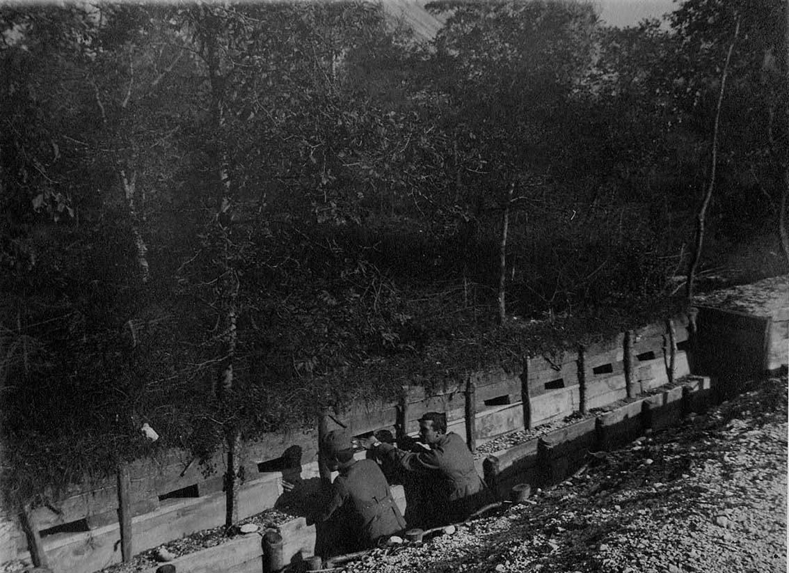 Click image for larger version.  Name:2.3.2. 9 12th Isonzo Battle Italian barrage of Saga, immediately overwhelmed by the Austro-Germa.JPG Views:1 Size:196.4 KB ID:3655619