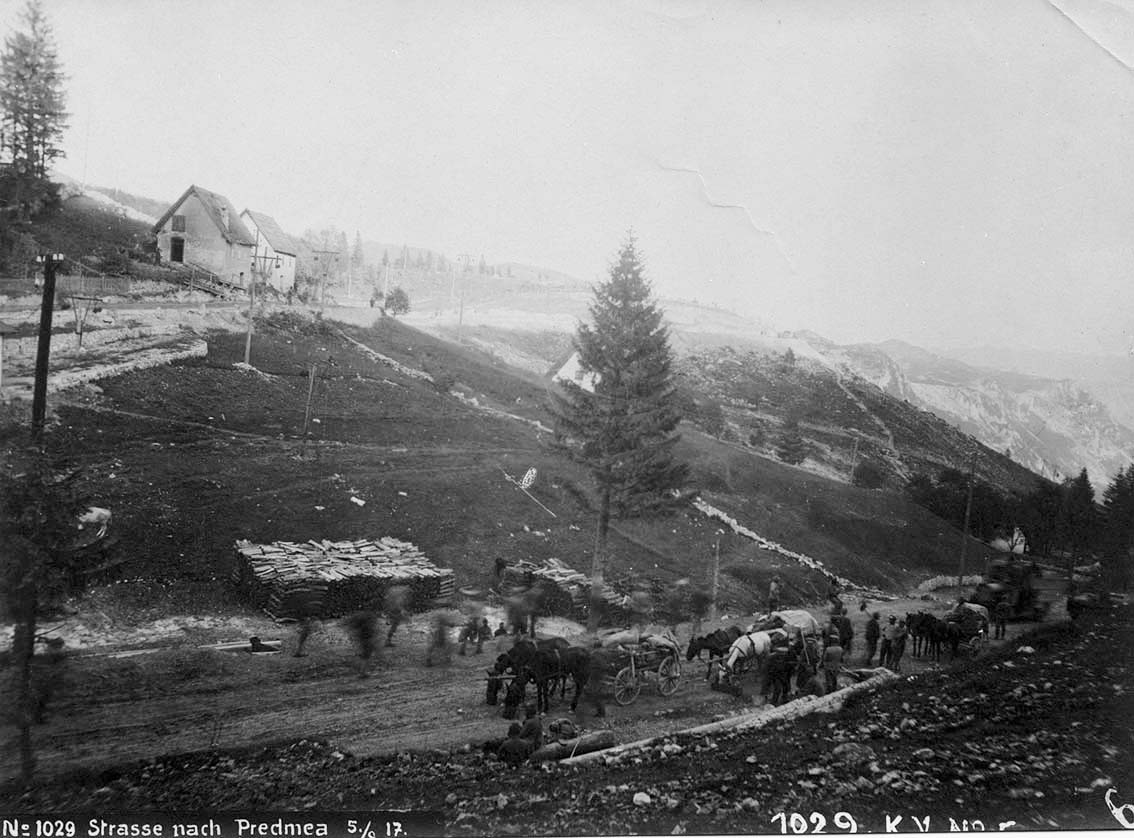 Click image for larger version.  Name:2.3.2. 9 12th Isonzo Battle village of Predmeja on the border with Slovenia.JPG Views:1 Size:142.7 KB ID:3655621