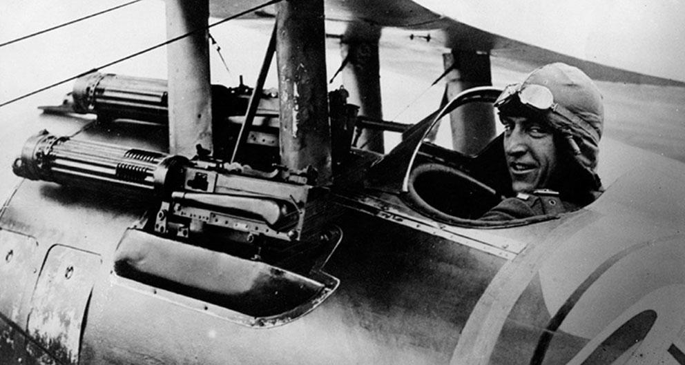 Click image for larger version.  Name:2.4.3. 12 32 Captain Edward Vernon Rickenbacker 3, his Nieuport 28.jpg Views:1 Size:109.4 KB ID:3667997