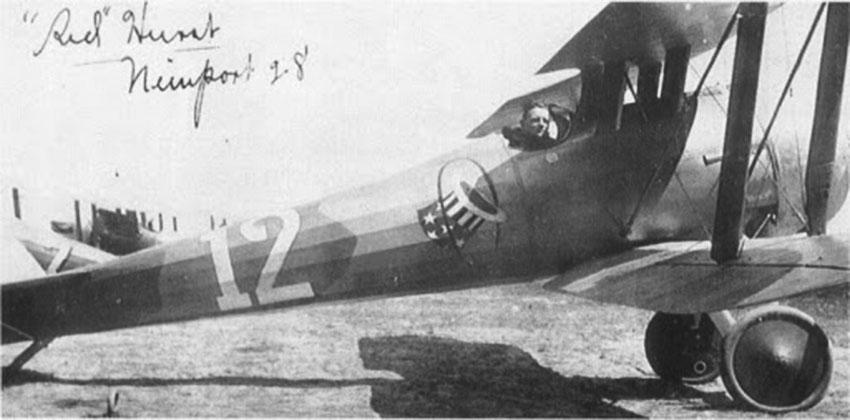 Click image for larger version.  Name:2.4.3. 12 32 Captain Edward Vernon Rickenbacker 4, his Nieuport 28.jpg Views:1 Size:68.9 KB ID:3667993