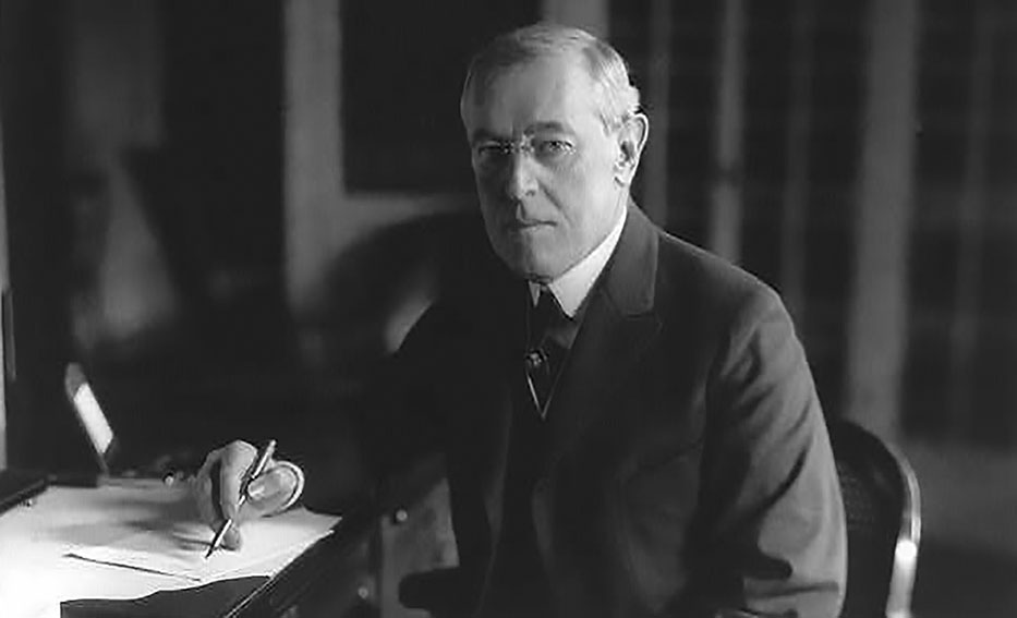Click image for larger version.  Name:2.4.3. 14 1 Woodrow Wilson, 1918.jpg Views:1 Size:48.0 KB ID:3668015