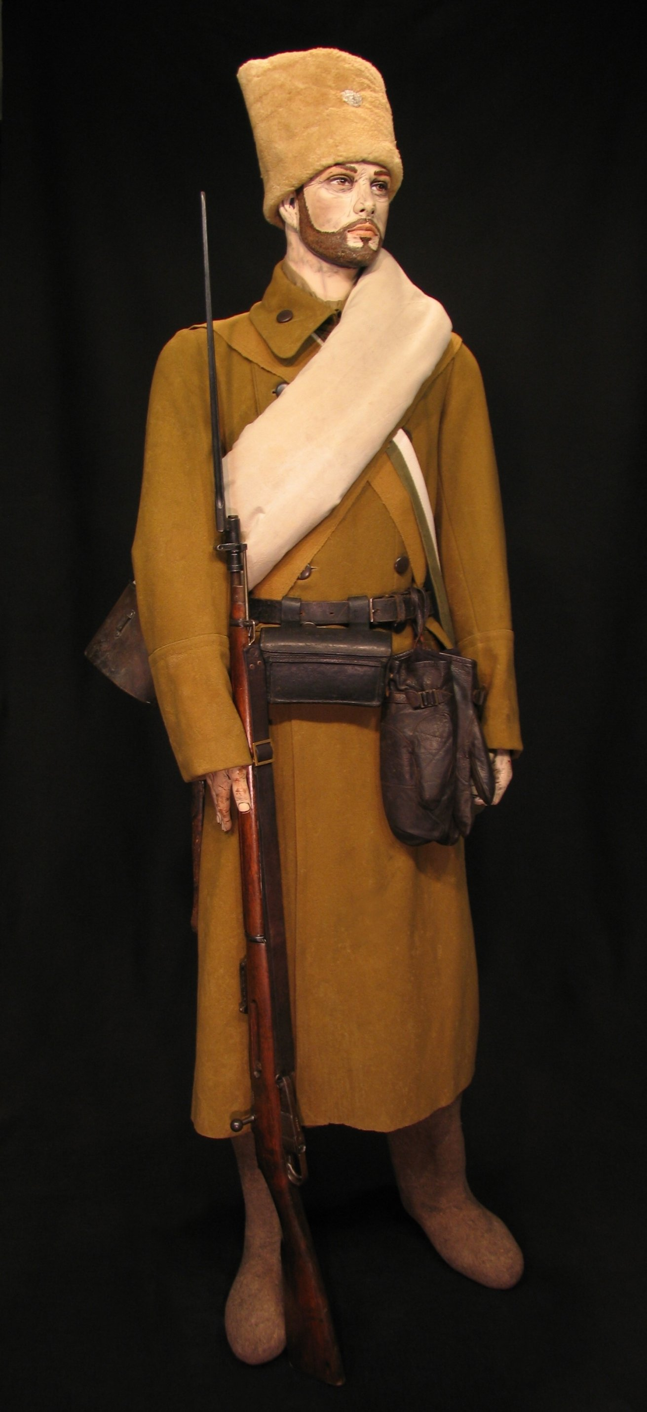 2-Czech Legion Winter Dress c 1916-1920 02R.jpg