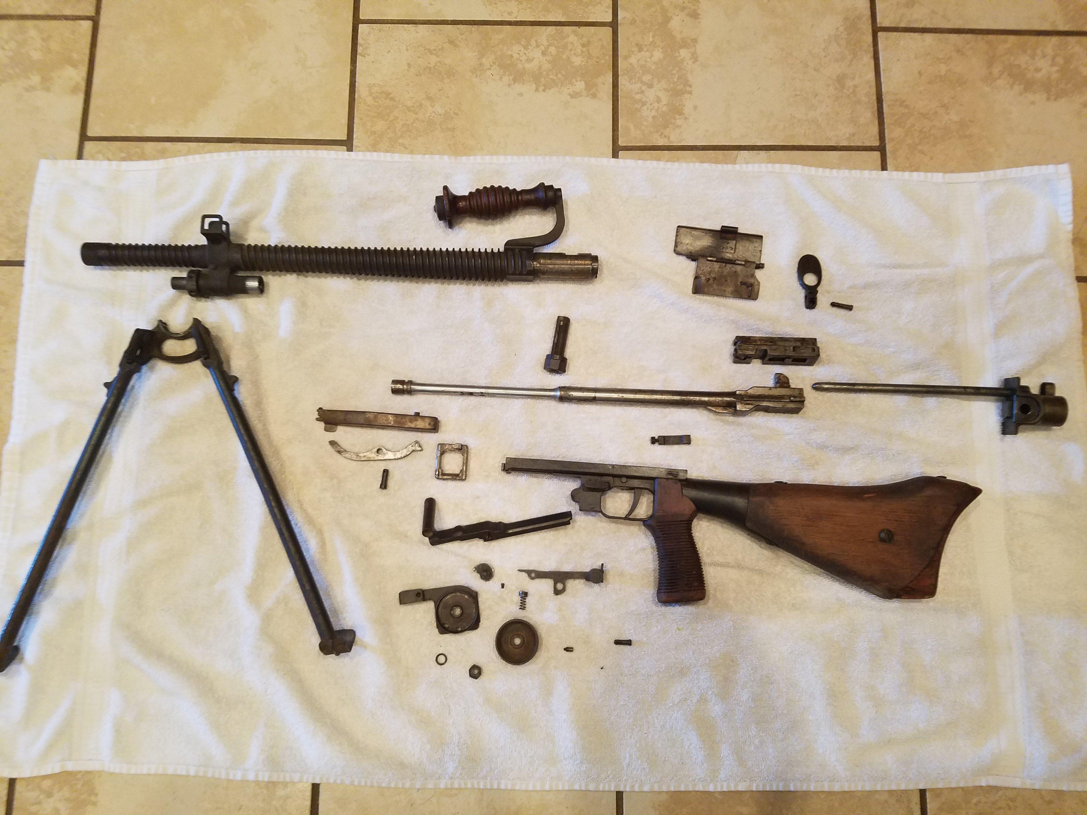 WTS: Type 99 LMG Parts Kit, 14 5