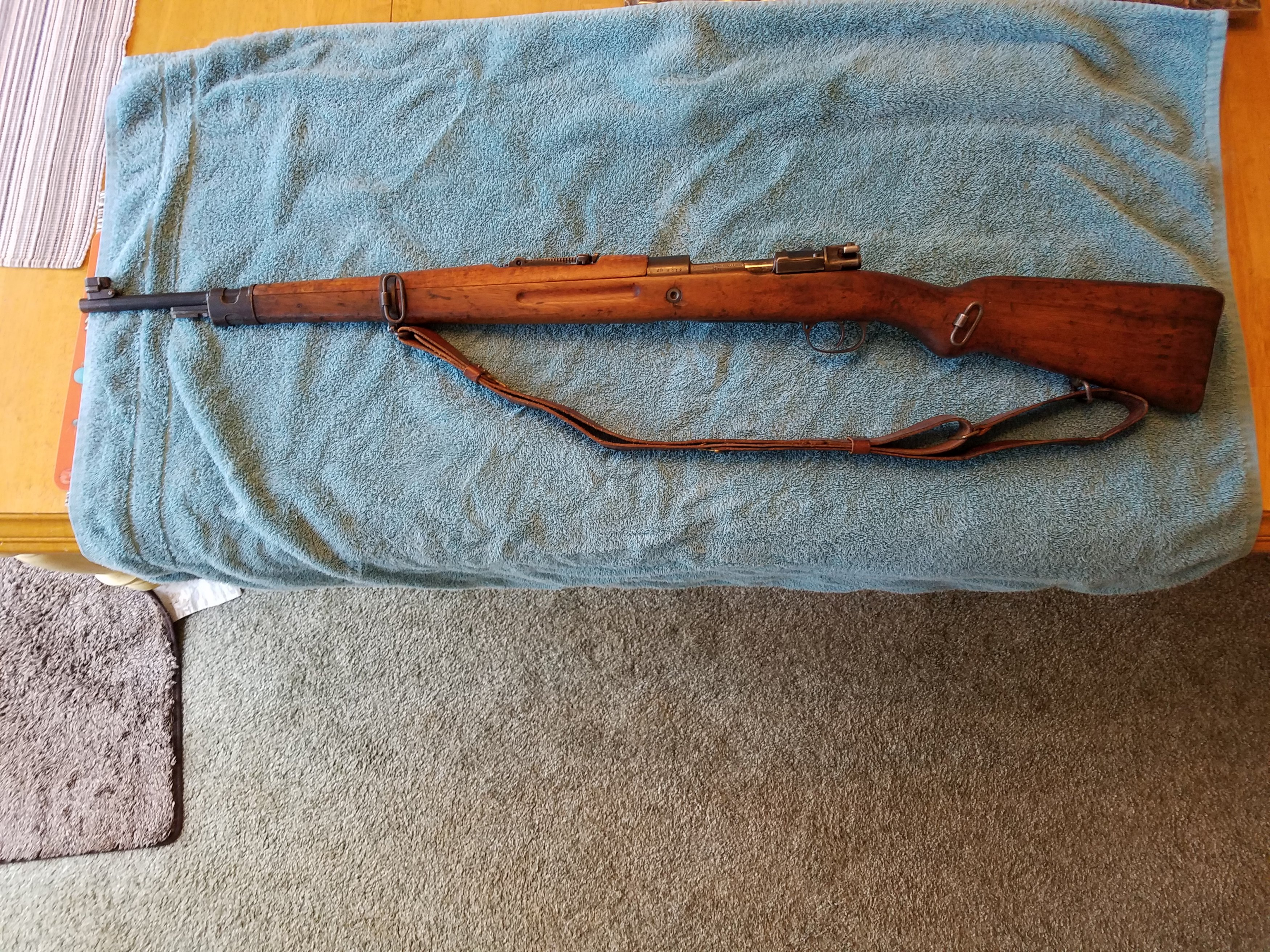 Mauser 8mm vz 24, looking to learn more about gun's history
