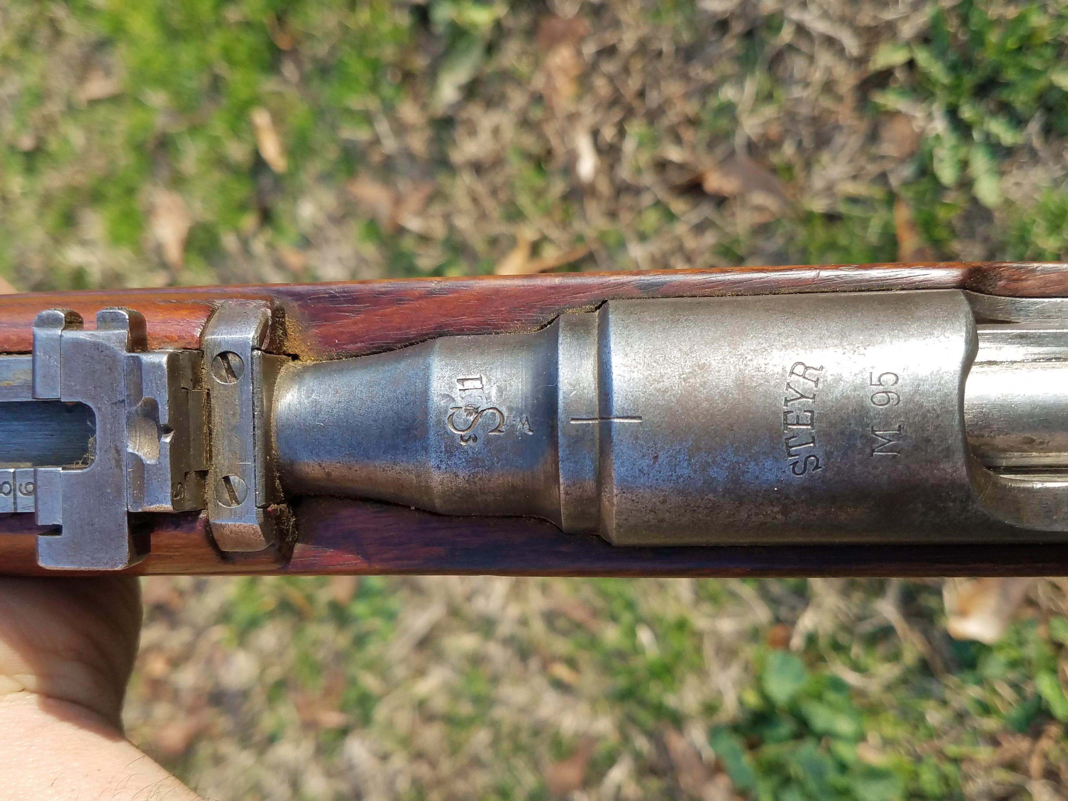 First Steyr M95 Rifle