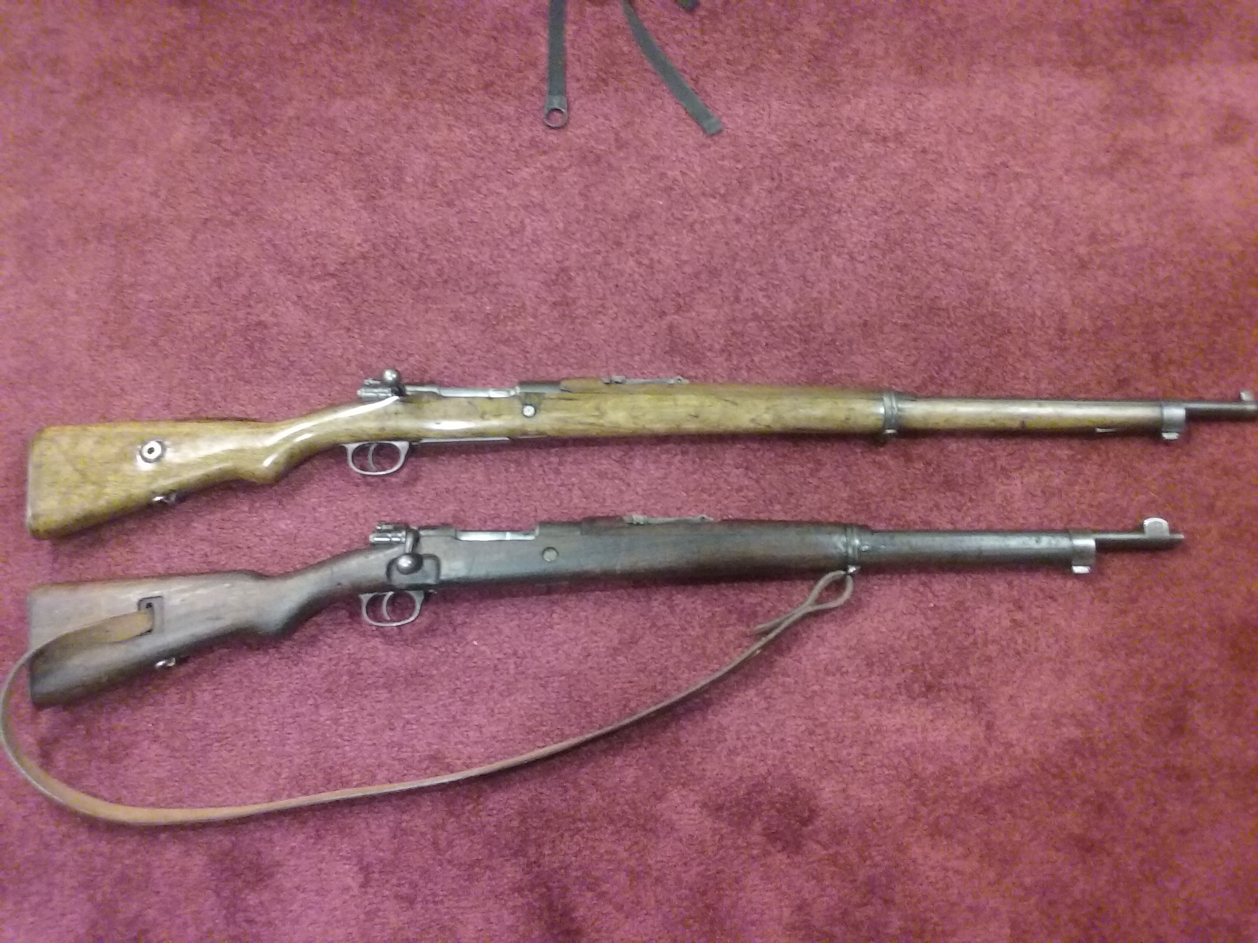 My two Turkish Mausers