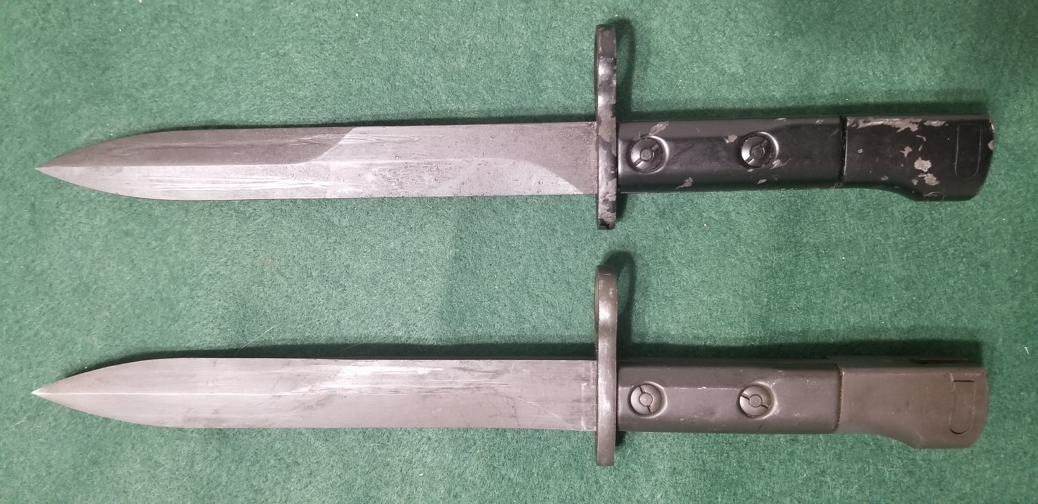 Uzi Bayonet Identification