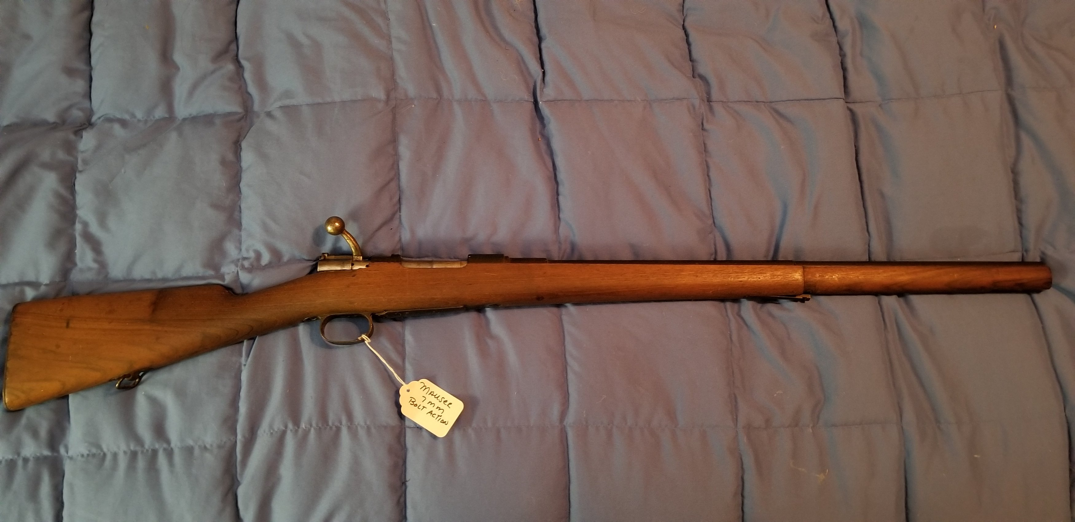 Can you help me identify this Mauser?