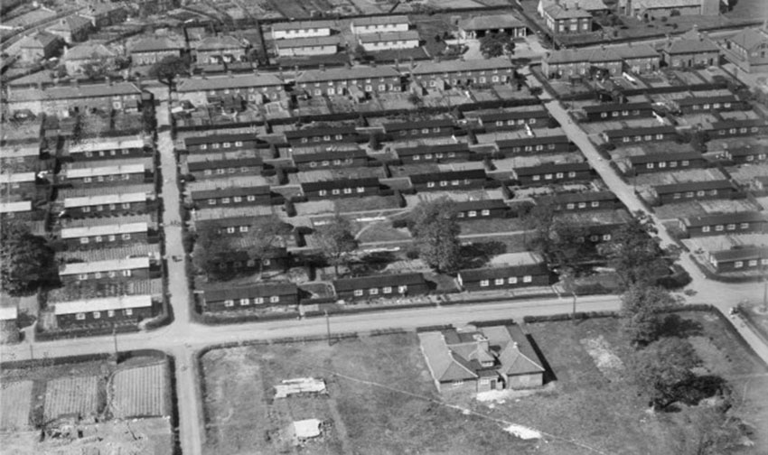 Click image for larger version.  Name:3. 1 1 WW1 HM Factory, Gretna, Prefab houses for munitions factory workers in Gretna, Dumfries a.jpg Views:1 Size:112.6 KB ID:3668349
