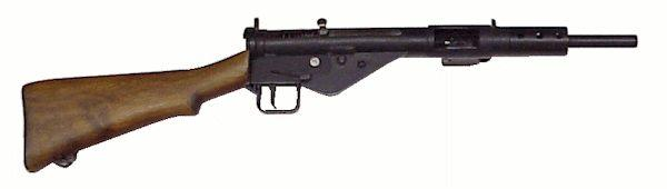 Image result for sten gun with wooden stock