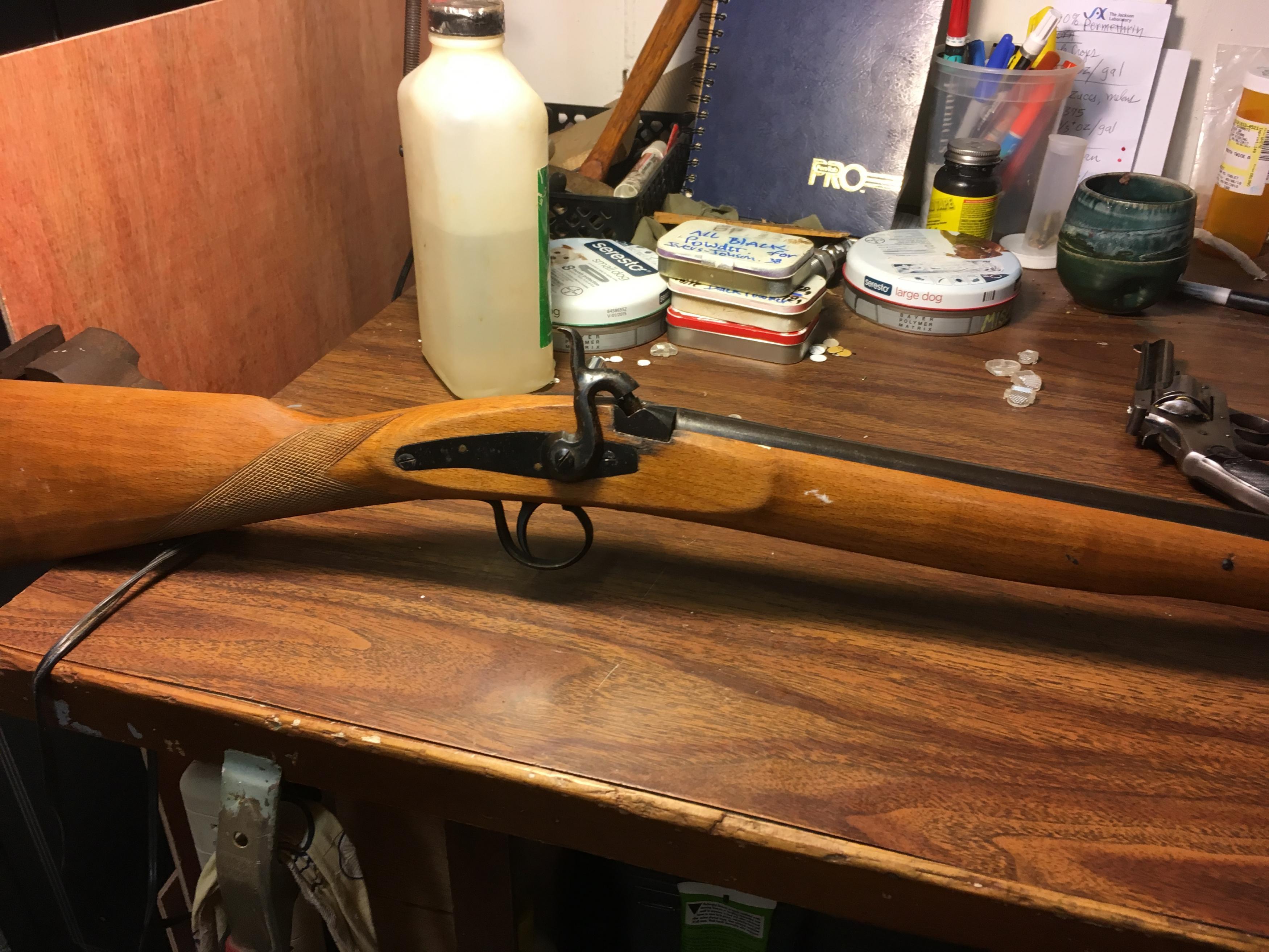 Old, cheap Spanish shotgun