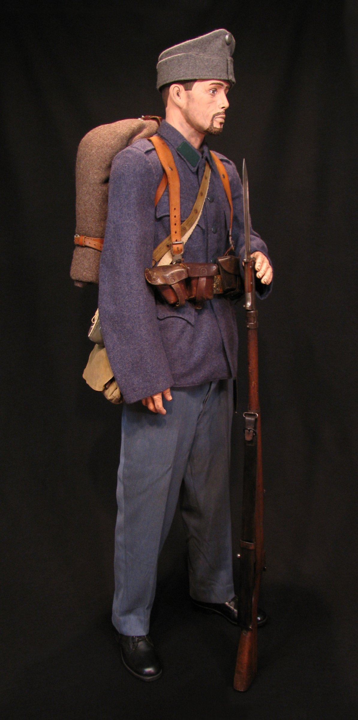 Click image for larger version.  Name:A-H Infantry Circa 1916 w M1912 Mauser 03R.jpg Views:12 Size:285.9 KB ID:651777