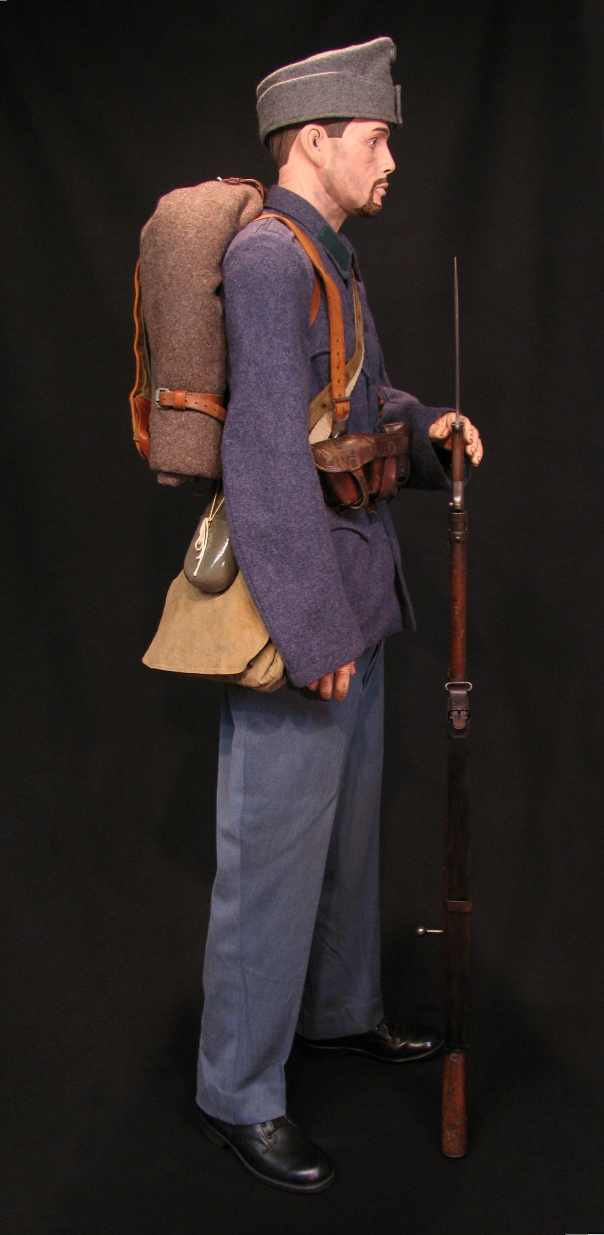 Click image for larger version.  Name:A-H Infantry Circa 1916 w M1912 Mauser 04R.jpg Views:9 Size:295.5 KB ID:651776