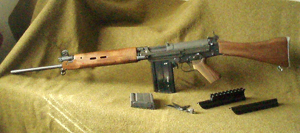 Click image for larger version.  Name:Century - Imbel L1A1 complete, except for carry handle..jpg Views:21 Size:146.8 KB ID:463219