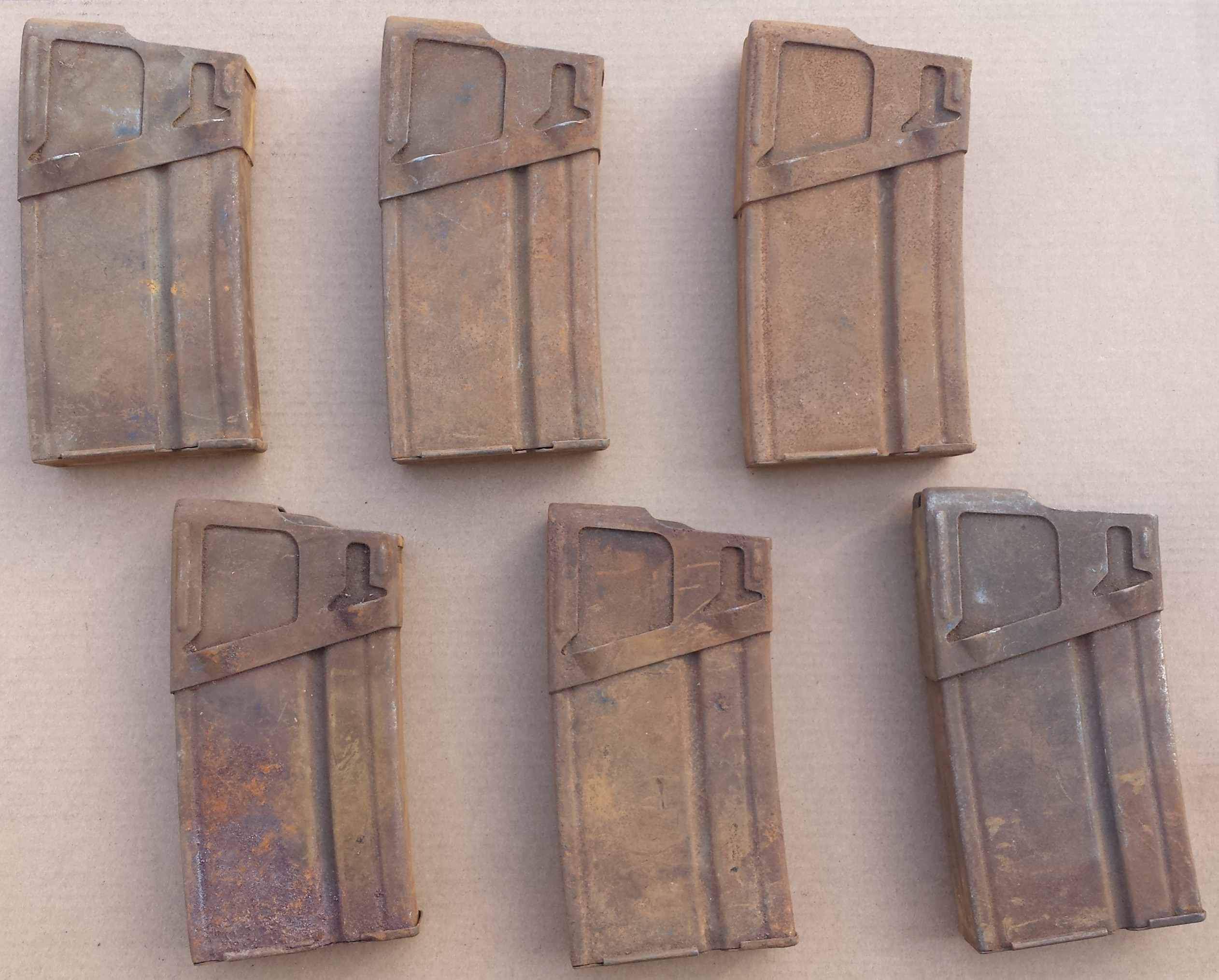 Rusty factory CETME Mags for sale at Centerfire systems