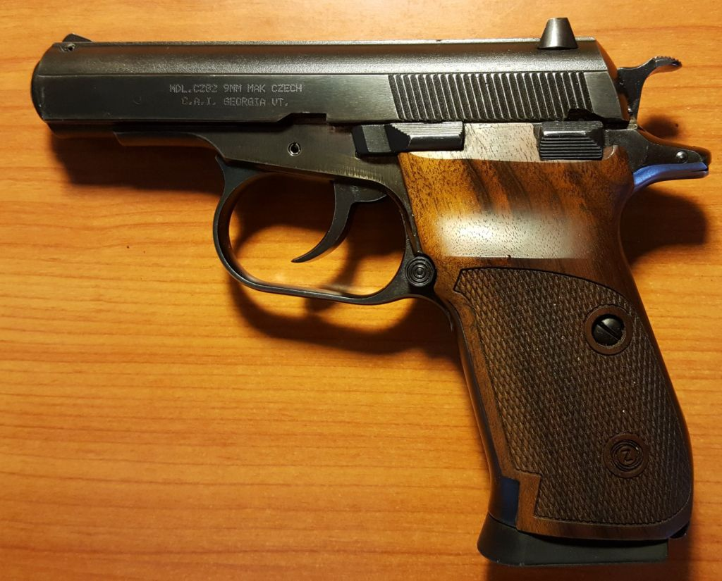 Bulgarian Makarov Cz82 Or P64 For First Mil Surpvintage Side Arm