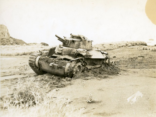 Click image for larger version.  Name:Destroyed_Japanese_Tank_80_percent.sized.jpg Views:140 Size:83.0 KB ID:589387