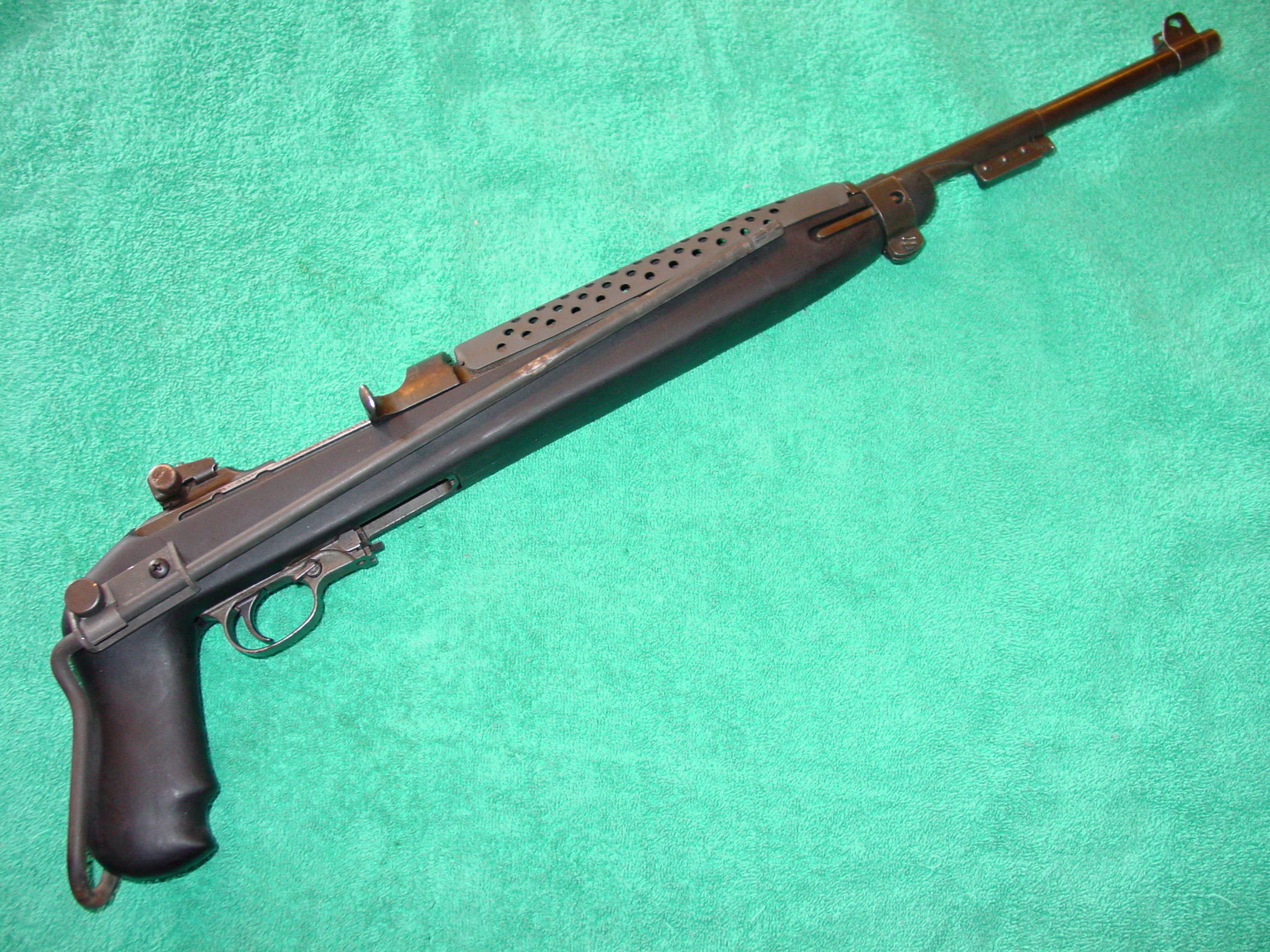 WTS: Collapsible Stock & Metal Handguard for M1 Carbine - CMP Forums