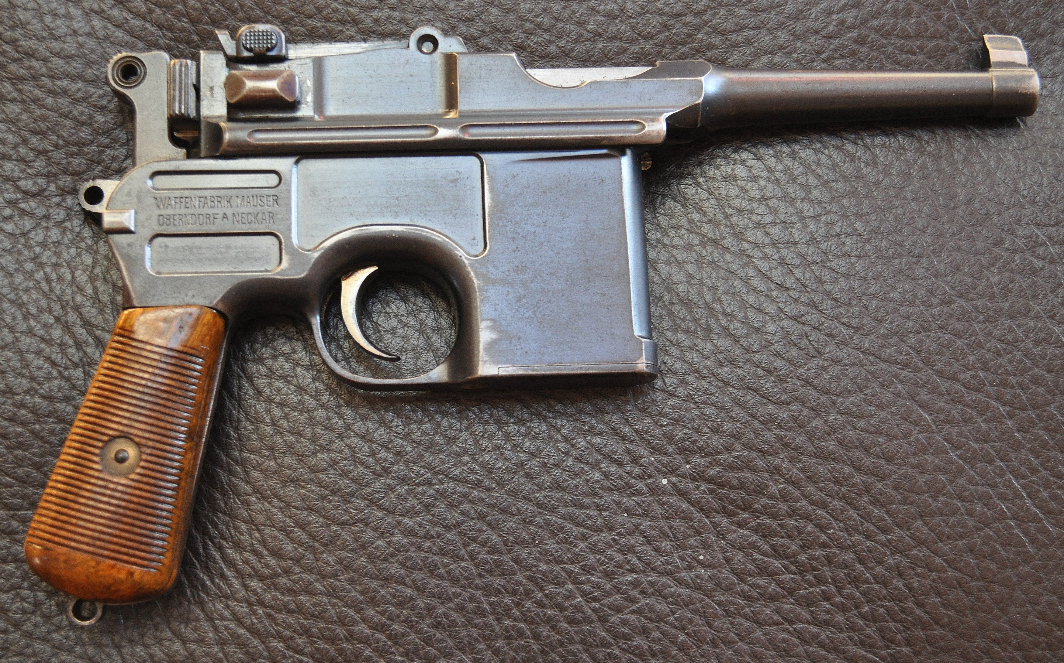 Mauser C96 Bolo question